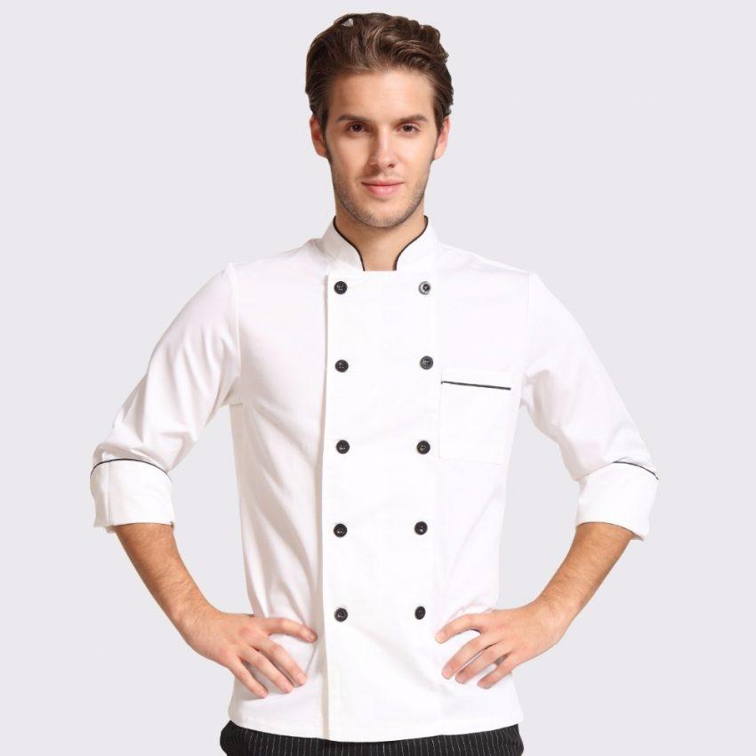 Áo Bếp Mẫu 1