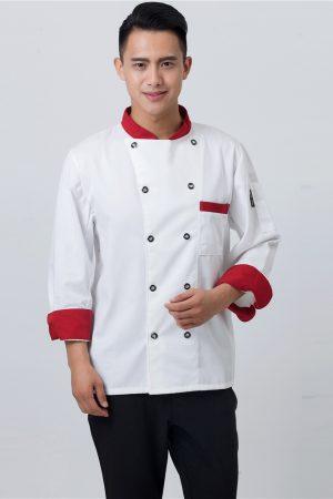 Áo Bếp Mẫu 2