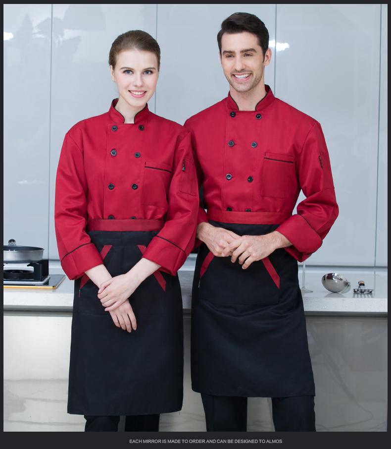Áo Bếp Mẫu 24