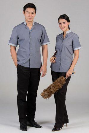 Đồng phục tạp vụ mẫu 12