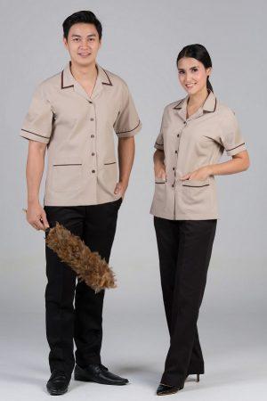 Đồng phục tạp vụ mẫu 14