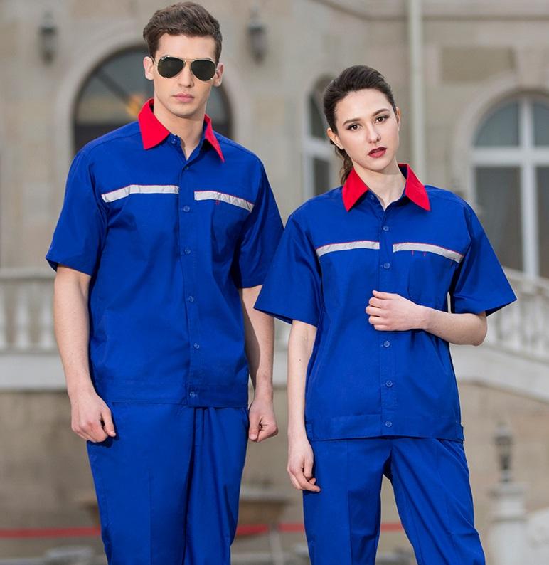 Quần áo bảo hộ mẫu 11