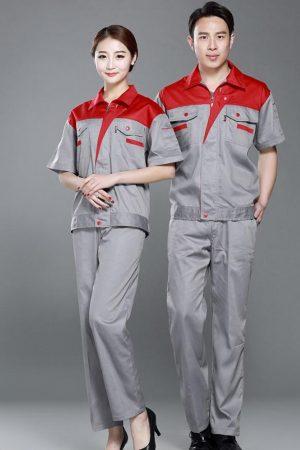 Quần áo bảo hộ mẫu 17