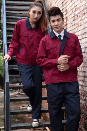 Quần áo bảo hộ mẫu 7