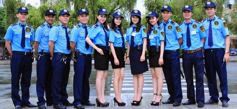 May đồng phục bảo vệ đẹp ở TPHCM với giá rẻ
