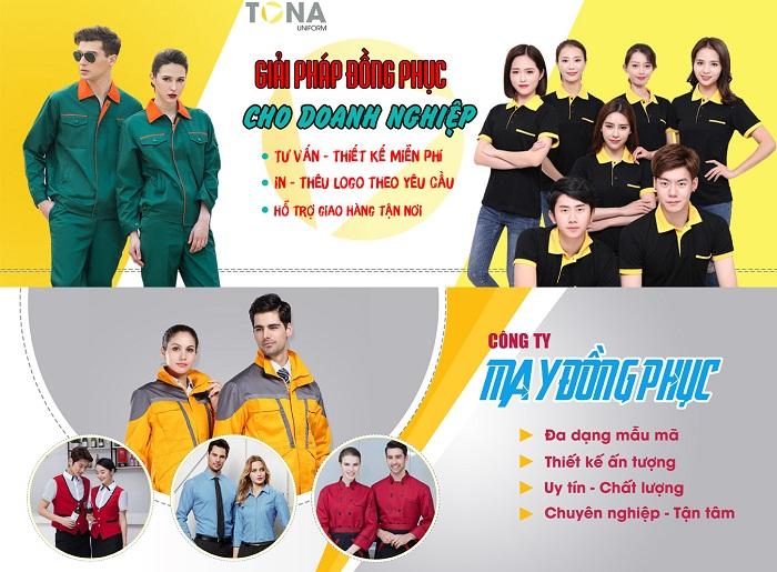 Xưởng công ty may đồng phục đẹp chất lượng giá rẻ tại tphcm
