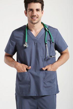 Áo bác sĩ phẫu thuật mẫu 2