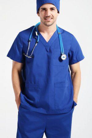 Áo bác sĩ phẫu thuật mẫu 3