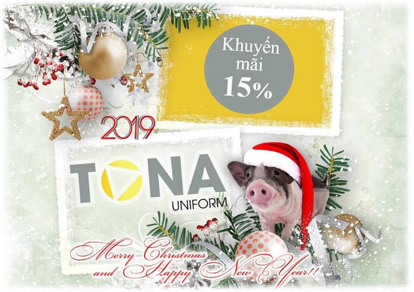 Khuyến mãi Giảm giá 15% dịp Giáng sinh 2018 và Năm mới 2019
