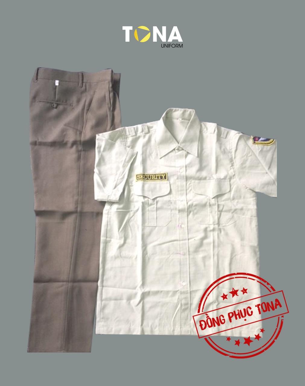 Áo bảo vệ trắng tay ngắn có sẵn mẫu 1