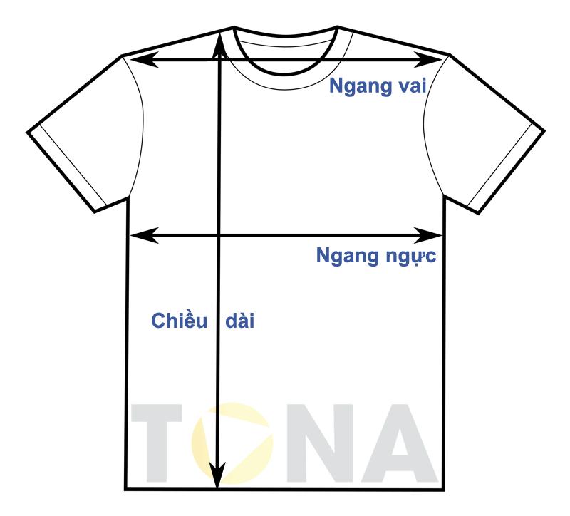 Cách đo các thông số kích thước để chọn Size áo thun chuẩn nhất