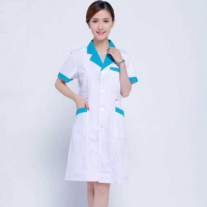 Áo Y tá điều dưỡng mẫu 2