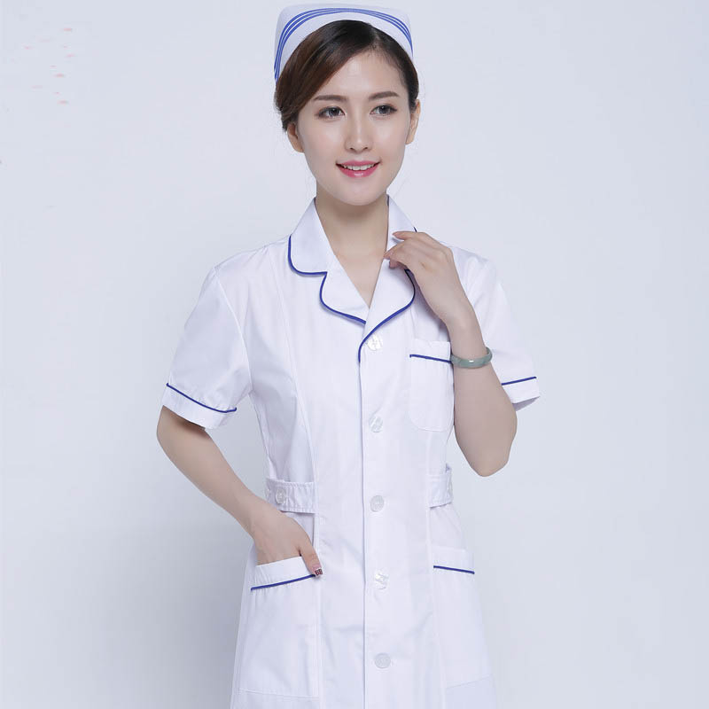 Áo Y tá điều dưỡng mẫu 4
