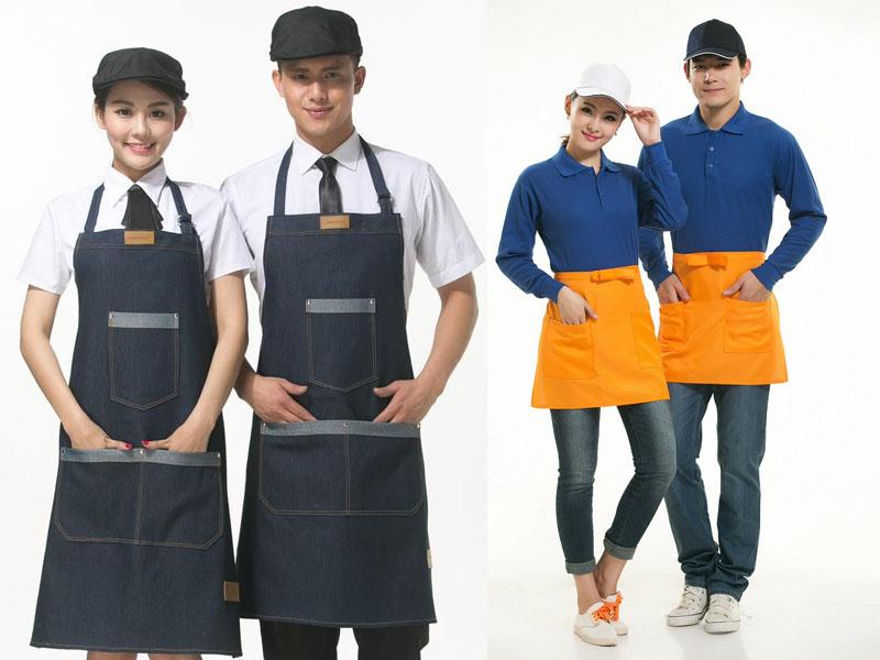 Xưởng công ty may mẫu tạp dề đồng phục đẹp tại TPHCM