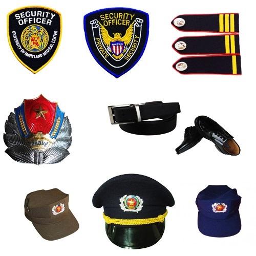 Phụ kiện đồng phục bảo vệ gồm những gì
