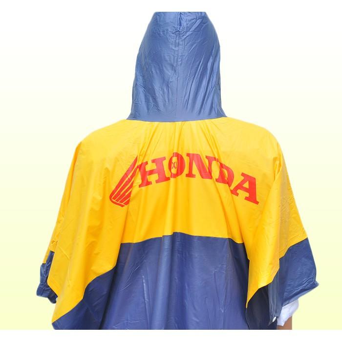 Mẫu thiết kế áo mưa quà tặng của hãng xe Honda 1