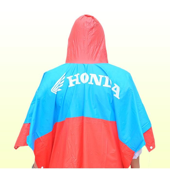 Mẫu thiết kế áo mưa quà tặng của hãng xe Honda 2