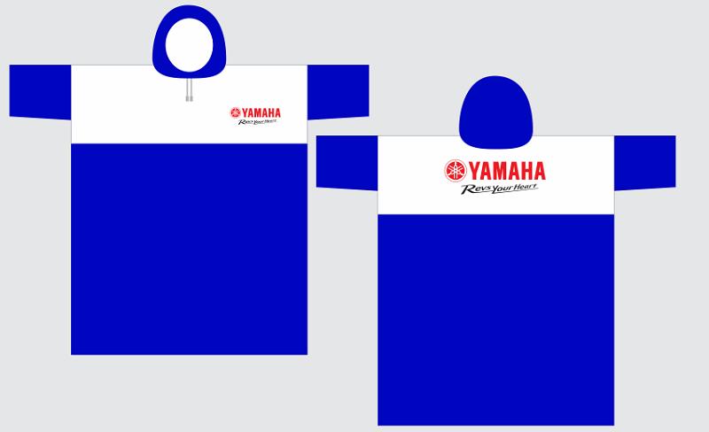 Mẫu thiết kế áo mưa quà tặng của hãng xe Yamaha