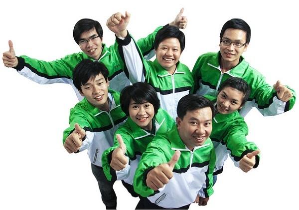 May đồng phục cho nhân viên giao hàng giá rẻ tại TPHCM 1