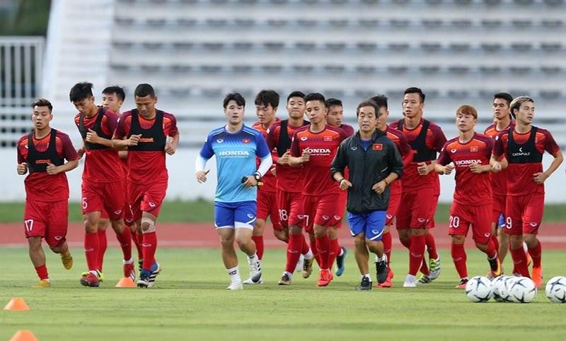 Áo đồng phục gắn chip GPS của đội tuyển bóng đá nam Việt Nam 1