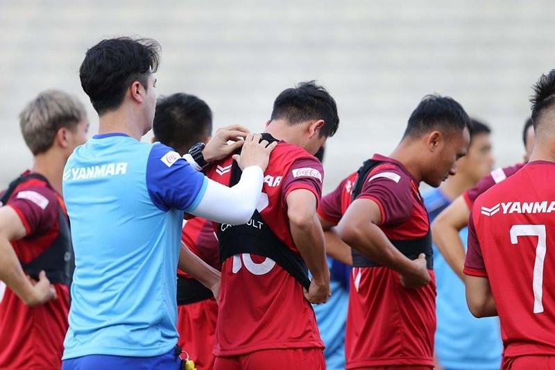 Áo đồng phục gắn chip GPS của đội tuyển bóng đá nam Việt Nam 2