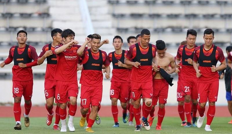 Áo đồng phục gắn chip GPS của đội tuyển bóng đá nam Việt Nam 4