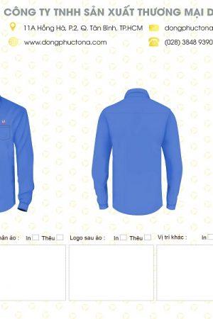 Mẫu áo sơ mi Thành Công TCICO
