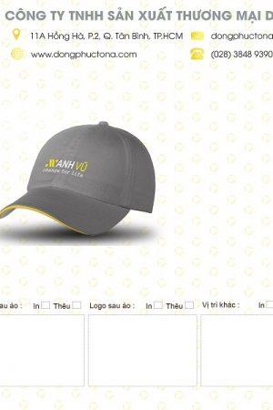 Mẫu nón kết Điện Lạnh Anh Vũ
