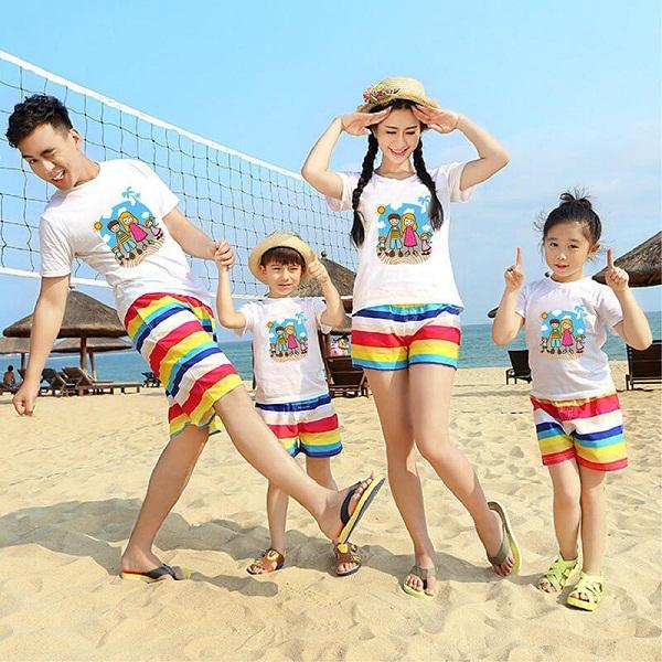 May áo đồng phục gia đình đẹp giá rẻ tại TPHCM 2