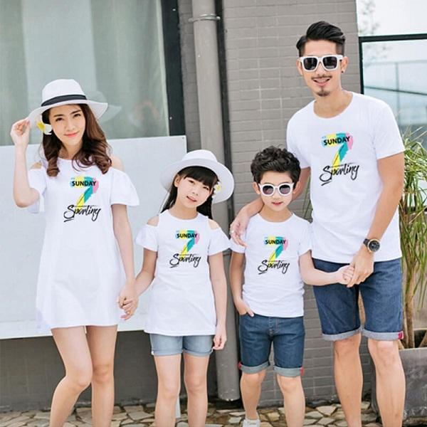 May áo đồng phục gia đình đẹp giá rẻ tại TPHCM 3