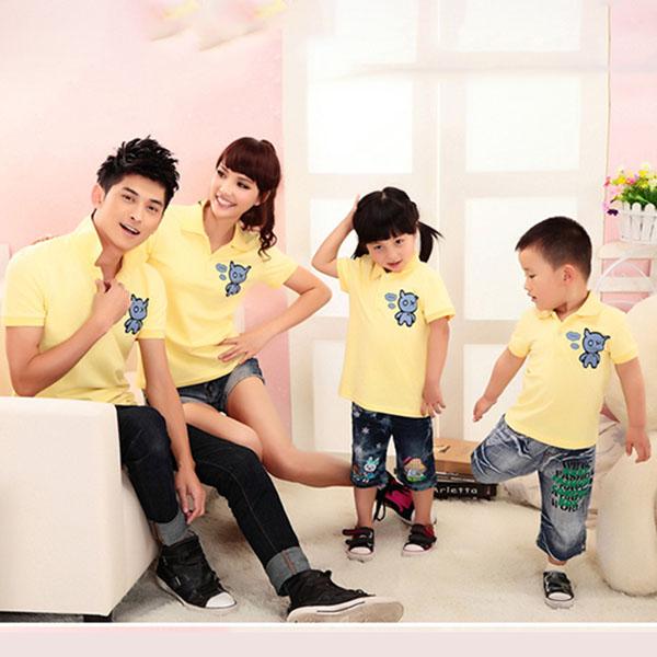 May áo đồng phục gia đình đẹp giá rẻ tại TPHCM 4