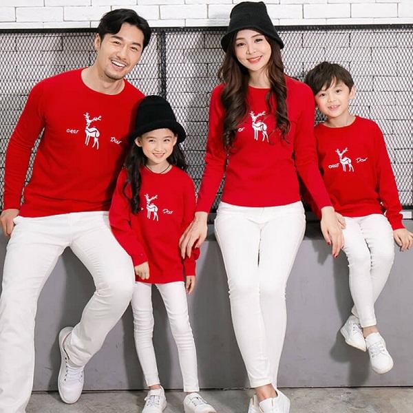 May áo đồng phục gia đình đẹp giá rẻ tại TPHCM 5