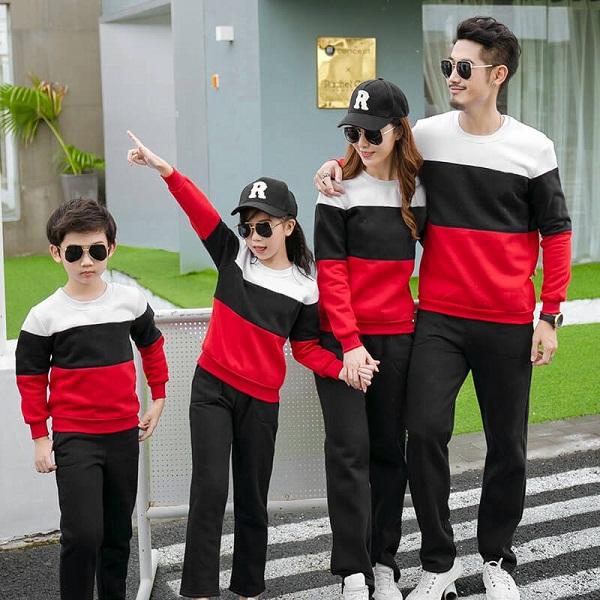 May áo đồng phục gia đình đẹp giá rẻ tại TPHCM 6