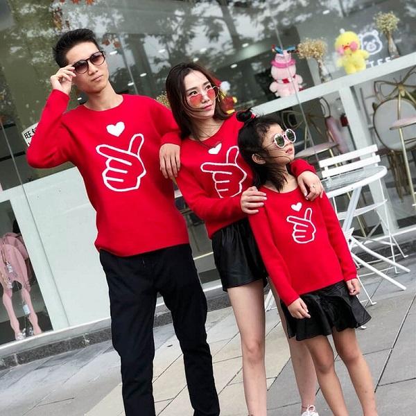 May áo đồng phục gia đình đẹp giá rẻ tại TPHCM 8