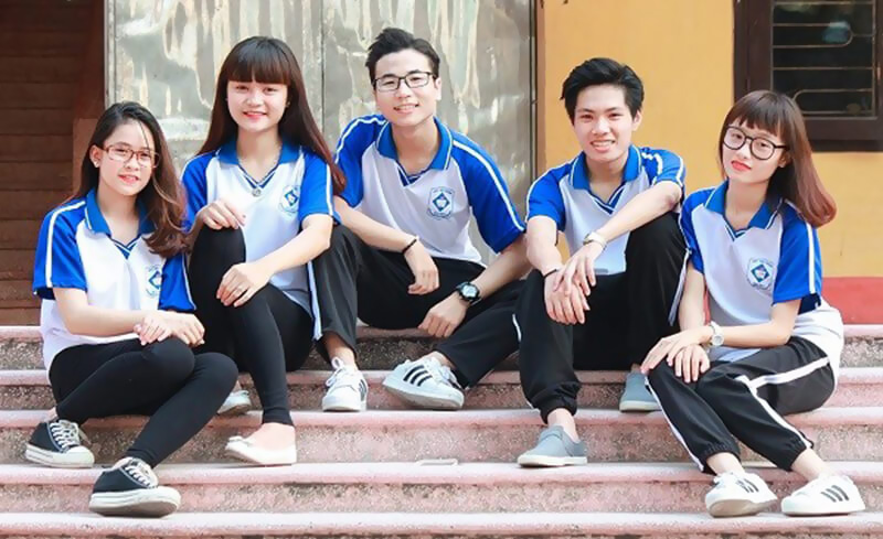 May đồng phục thể dục đẹp cho học sinh các trường học TPHCM 1