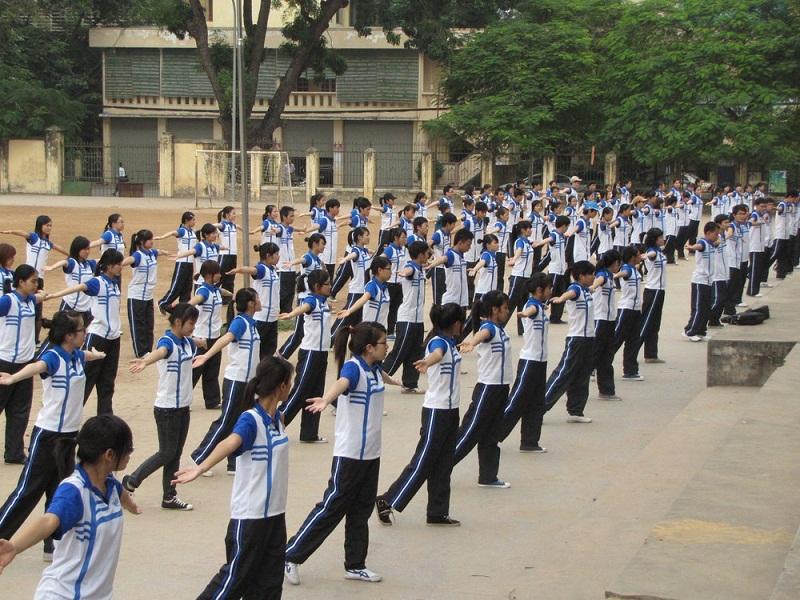 May đồng phục thể dục đẹp cho học sinh các trường học TPHCM 3