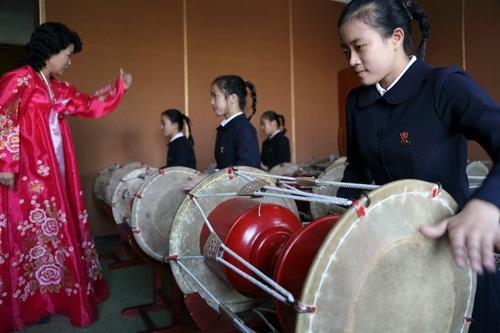 Đồng phục học sinh nữ sinh Triều Tiên