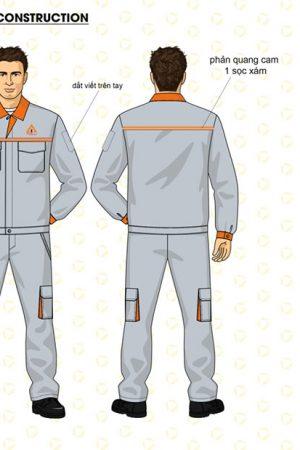 Mẫu áo bảo hộ tay dài
