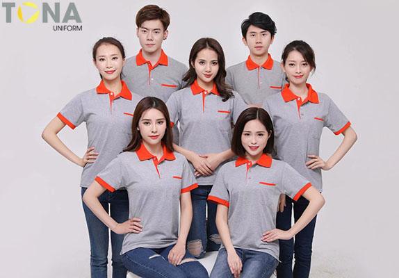 Xưởng may áo thun cá sấu giá rẻ làm đồng phục công ty tại TPHCM 6