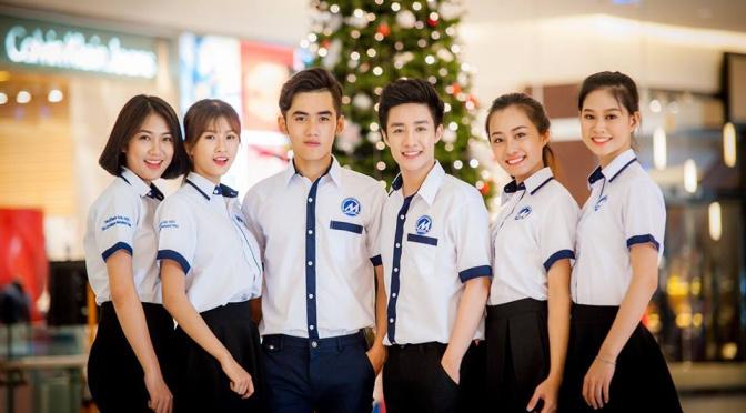 Đồng phục của trường Đại học Tài chính Marketing