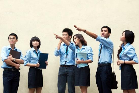 Đồng phục của trường Học Viện Ngoại Giao Việt Nam