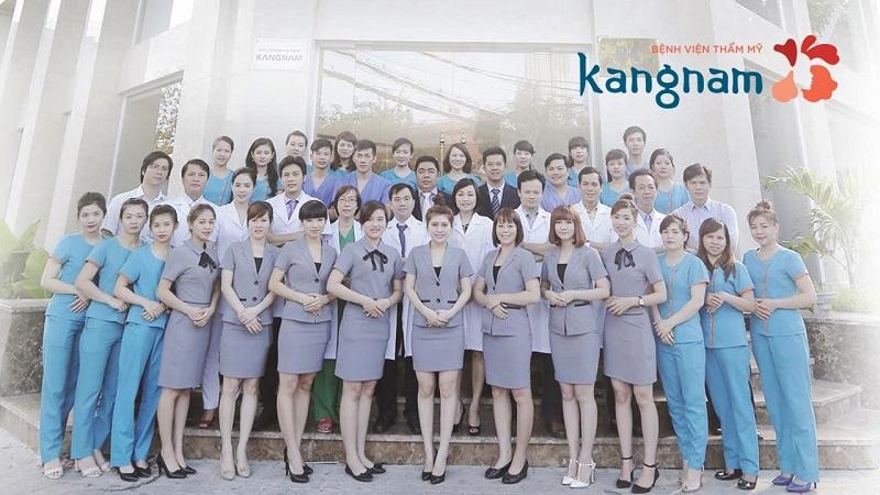 áo blue thẩm mỹ viện Kangnam