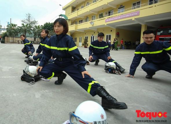 quần áo bảo hộ phòng cháy chữa cháy PCCC lính cứu hỏa 1