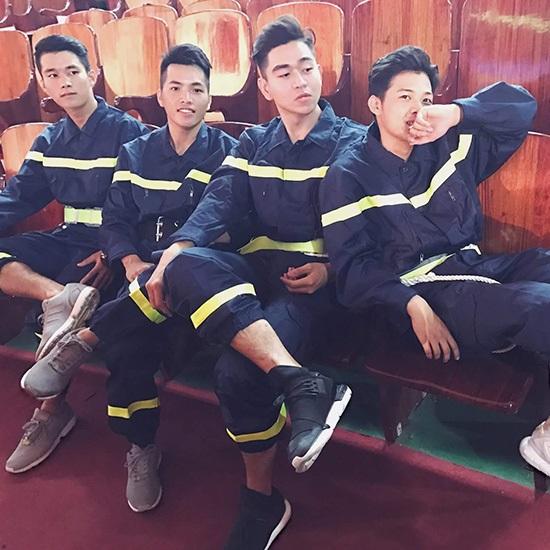 quần áo bảo hộ phòng cháy chữa cháy PCCC lính cứu hỏa 2