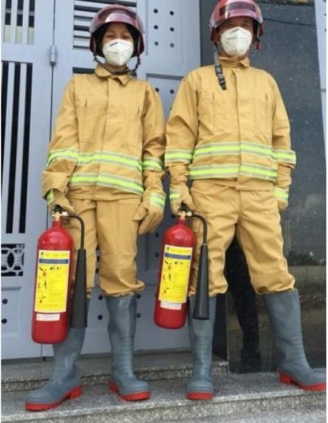 quần áo bảo hộ phòng cháy chữa cháy PCCC lính cứu hỏa 5