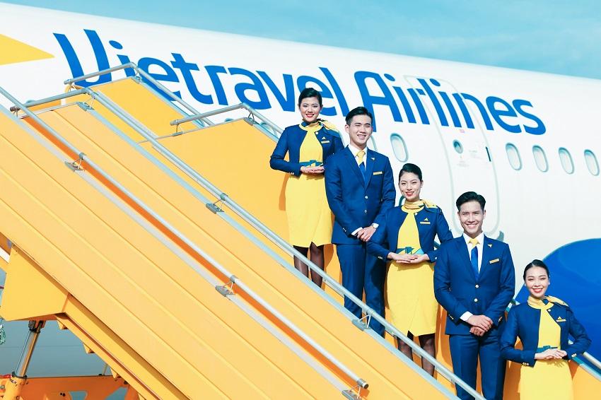 Đồng phục hãng hàng không lữ hành Việt Nam Vietravel Airlines 2