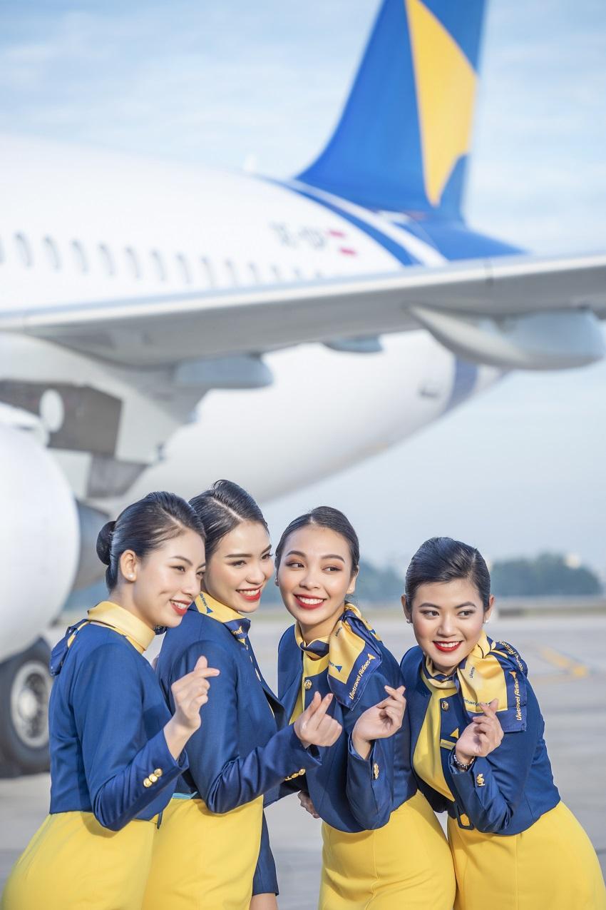 Đồng phục hãng hàng không lữ hành Việt Nam Vietravel Airlines 3
