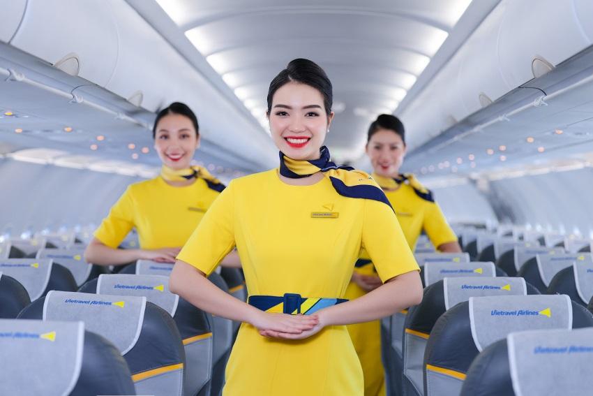 Đồng phục hãng hàng không lữ hành Việt Nam Vietravel Airlines 5