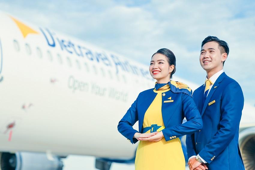Đồng phục hãng hàng không lữ hành Việt Nam Vietravel Airlines