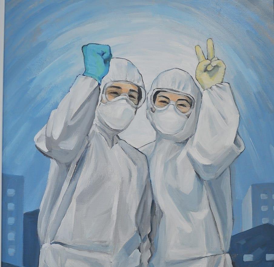 quần áo bảo hộ Y tế phòng chống dịch dùng 1 lần 2